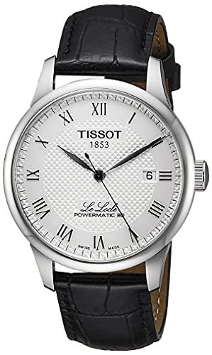 TISSOT Herren Analog Automatik Uhr mit Leder Armband T0064071603300