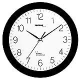 Technoline WT 8000 Horloge murale Radio Pilotee Noir