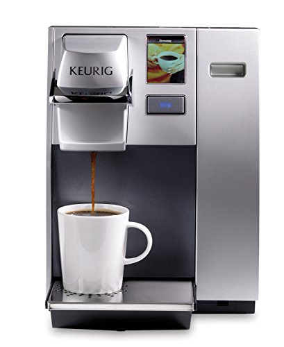 Keurig K155 Office Pro Commercial Coffee Maker, Single Serve K-Cup Pod Coffee Brewer, Silver
