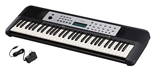Yamaha, 61-Key Portable Keyboard, Keyboard & Power Supply (YPT270) (Renewed)