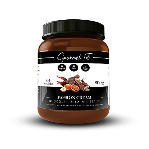 Crema de Cacao y Avellanas Hiperproteica sin Azucares ni gra