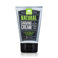 Pacific Shaving Company Natural Shave Cream - with Safe, Natural, and Plant-Derived Ingredients for...