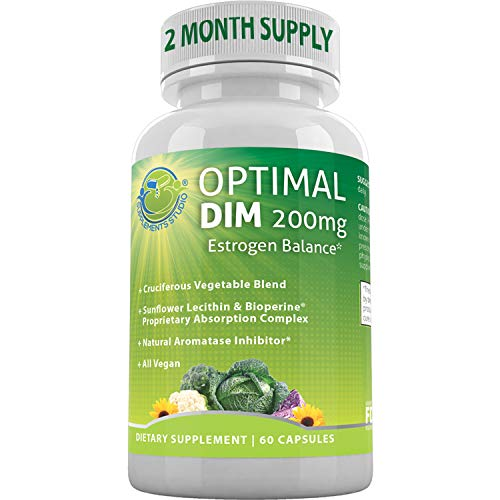 Supplements Studio Optimal DIM (Diindolylmethane) Plus...