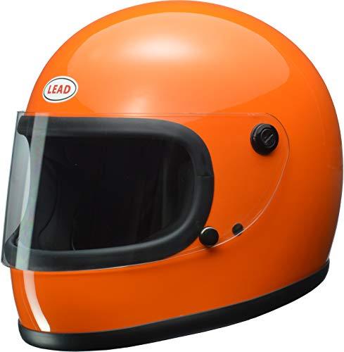 リード工業(LEAD) バイクヘルメット フルフェイス RX-200R オレンジ フリーサイズ (57-60cm未満) -