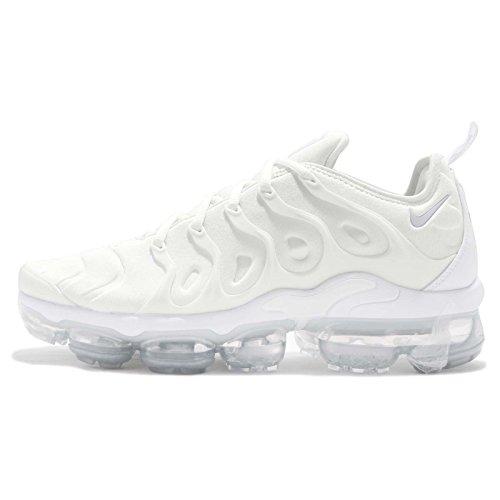 Nike Herren Air Vapormax Plus 924453-100 Laufschuhe, Weiß (White/White/Pure Platinum 100), 42 EU