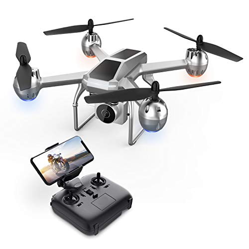 Eanling FPV Drone HS140 with 1080P HD Camera Live Video for Kids,RC Quadcopter with Tap Fly, Altitude Hold, Headless Mode, 3D Flips, Long Flight Time,One Key Start for Adults