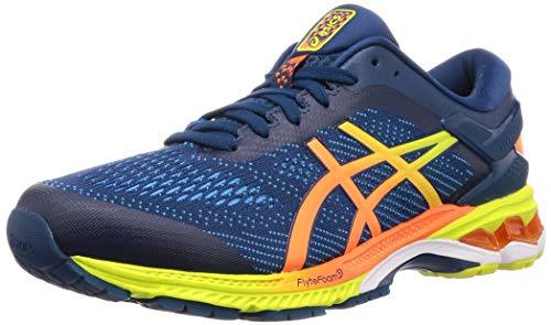 Asics Gel-Kayano 26, Zapatillas de Running para Hombre, Azul (Mako Blue/Sour Yuzu 400), 43.5 EU
