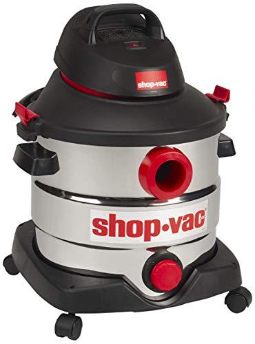 Shop-Vac 5989400 8 gallon 6.0 Peak HP Stainless Wet Dry Vacuum, Black (Renewed)