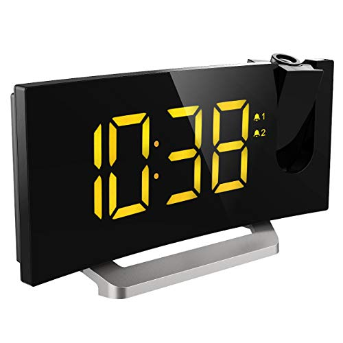 41fmbcS5ciL - The 7 Best Projection Clocks: Chic, Modern and Functional Timepieces That Will Transform Your Home