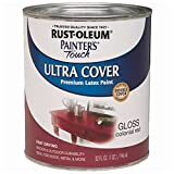 Rust-Oleum 1964502 Enamel Paint, 32 Fl Oz (Pack of 1), Gloss Colonial Red