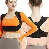 Posture Corrector for Women and Men, Adjustable Upper Back Brace, Breathable Back Support...