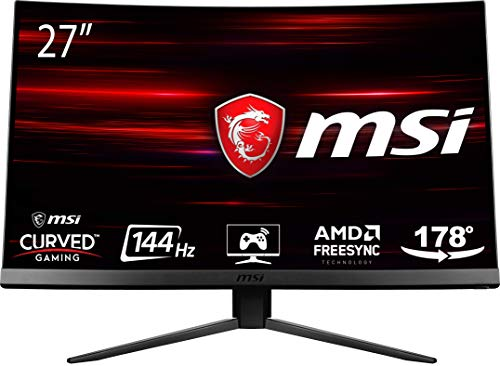 MSI Optix MAG271C LCD Monitor Gaming 27' Curvo, Pannelo VA, 144 Hz, 1ms