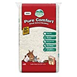 Oxbow Pure Comfort Small Animal Bedding - Odor & Moisture Absorbent, Dust-Free Bedding for Small Animals, White, 36 Liter Bag