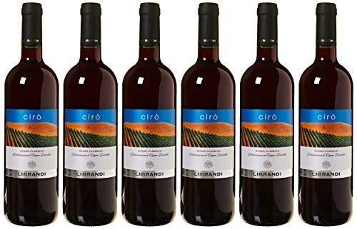 Librandi Vino Cir Rosso Classico Doc - 2018 - 6 Bottiglie da 750 ml