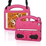 KINGSKEEN Custodia per iPad Mini 7,9', iPad Mini 5/4/3/2/1, custodia professionale per bambini leggera antiurto in EVA, con manico integrato, tracolla e portapenne Apple (Pink)