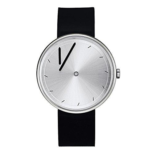 """Projects Watches (Johannes Lindner) 7320G """"Twirler Steel"""" Watch Silicon Unisex"""