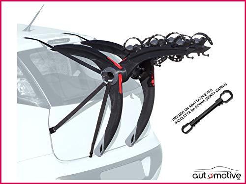 Proposteonline Portabici Posteriore 3 Bici Omologato Compatibile con Jeep Compass 5 Porte dal 2017...