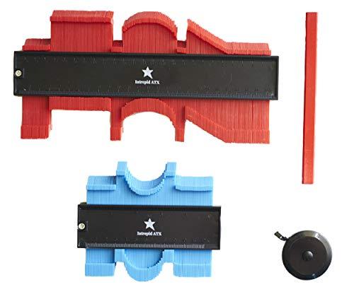 Contour Gauge Set, Contour Gauge Profile Tools, Contour Gauge Profile Tool Set For Measuring Trim, Contour Gauge Duplicator Tool Kit