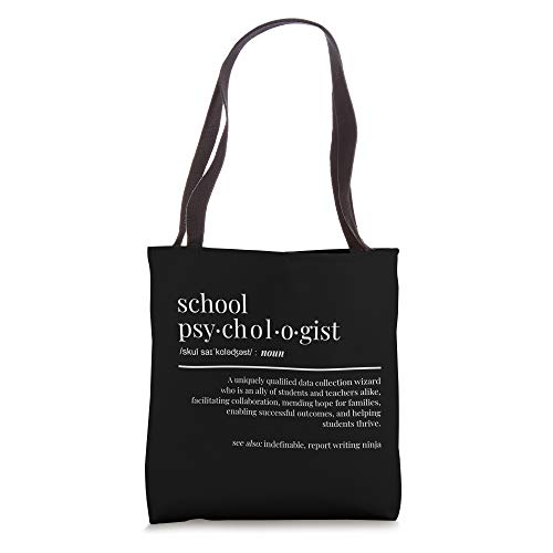 Funny School Psychologist Gifts For NCSP Tote Bag