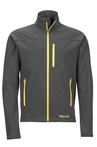Marmot Men's Tempo Softshell Jacket, Slate Grey, X-Large