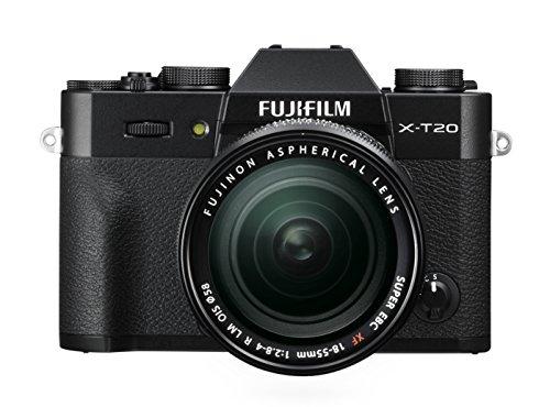 FUJIFILM ミラーレス一眼 X-T20 レンズキットブラック X-T20LK-B