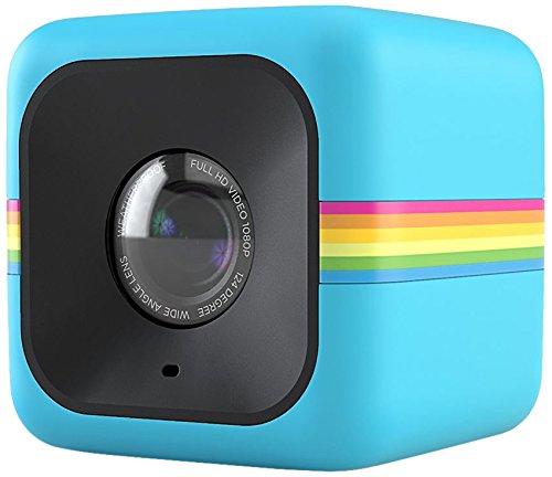 Polaroid ポラロイド POLC3 キューブ HD デジタルビデオアクションカメラ青