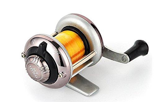 Pesca Mulinello,filo pesca,cucchiaini pesca,Mini Metal Bait Casting Spinning Mulinello Mulinello da pesca Mulinello per pesci