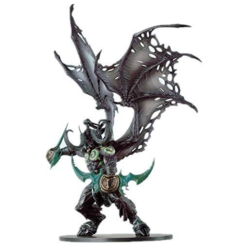 YLLAND Von Handgemachten World of Warcraft Abbildung Demonform Illidan Figure Action Figure LNNDE
