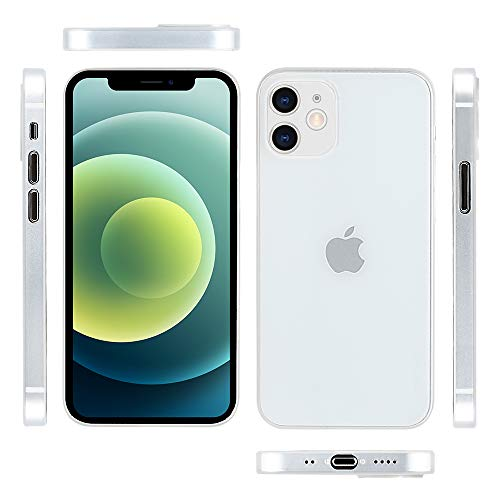 iPhone 12 mini対応ケース 0.3㎜超薄型 memumi® 全面保護カバー 指紋防止 傷付き防止 5.4インチ 人気ケース...