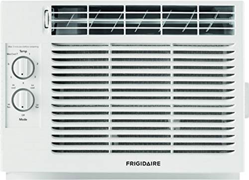 FRIGIDAIRE White FFRA051ZA1 17' Window Air Conditioner with 5000 BTU Cooling Capacity-115V