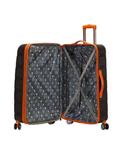 Product Image 2: Rockland Melbourne Hardside Expandable Spinner Wheel Luggage, Charcoal, 2-Piece Set (20/28)