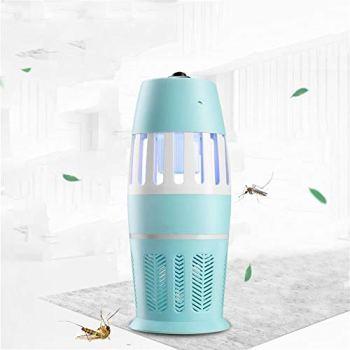 LVYI Photocatalyseur USB Mosquito Tuer Type de Lampe d'aspiration Tueur de Moustique Mute sans émission-Fly Tuer des ménages Mosquito Lamp Répulsif