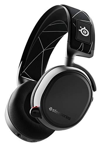 SteelSeries Arctis 9 - Casque Gaming Double sans Fil - Audio sans Fil 2,4 GHz sans Perte + Bluetooth - Pour PC et PlayStation