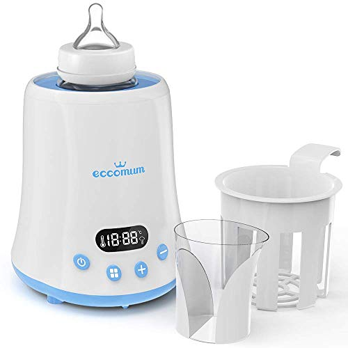Baby-Bottle-Warmer-Eccomum-Fast-Breast-Milk-Warmer-with-a-Timer-Baby-Food-Heater-with-LCD-Display-Accurate-Temperature-Control-Constant-Mode-Fit-All-Baby-Bottles