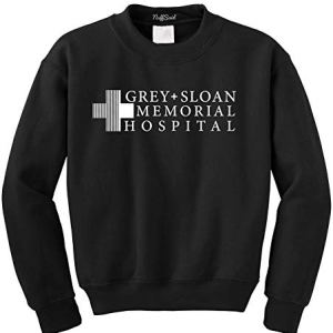 NuffSaid Grey Sloan Memorial Hospital Sweatshirt Sweater Crew Neck Pullover – Premium Quality