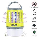 Linkax Lampe Anti Moustique,2-en-1Insecte Zapper,Camping...