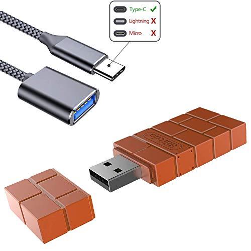 LEAGY 8Bitdo RR Adattatore Bluetooth senza fili per Nintendo Switch, Windows, Mac e Raspberry Pi, con cavo OTG