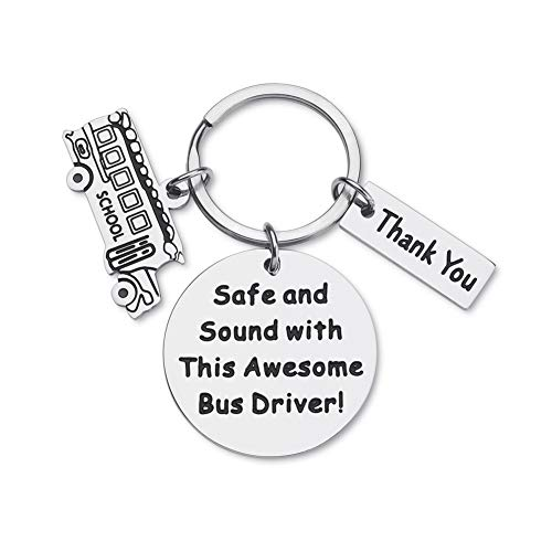 Gifts for Bus-Driver-Keychain-Appreciation-Gift for Men...