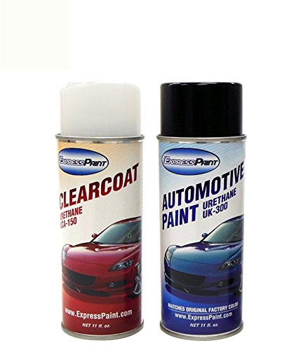 ColorRite Aerosol Automotive Touch-up Paint for Toyota Camry - Super White 2 040 - Color+Clearcoat Package