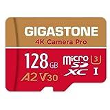 Gigastone Carte Mémoire 128 Go 4K Caméra Pro Série, Compatible avec Nintendo...