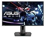 ASUS VG279Q - Ecran PC gaming eSport 27' FHD - Dalle IPS - 16:9 - 144Hz - 1ms - 1920x1080 - 400cd/m² - Display Port, HDMI et DVI - Haut-parleurs - AMD FreeSync