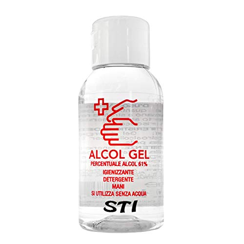 STI Gel Lavamani Igienizzante Senza Acqua Stick 500ml alchool 75% dispenser Elimina 99% a base alcolica