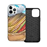 Case Compatible with iPhone 12mini Case 5.4Inches Hiking Scene Vinicunca Cusco Region Peru Case For iPhone 12 Protector Shockproof Flexible TPU Bumper and Transparent Hard Pc Back