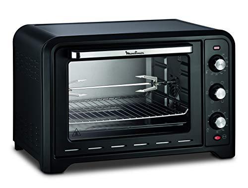 Moulinex OX485810 Four électrique Optimo 39 L Cuisson chaleur tournante, traditionnelle, gril, pâtisserie, bain marie, décongélation