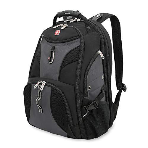 SWISSGEAR 1900 ScanSmart TSA Laptop Backpack - Grey/Black