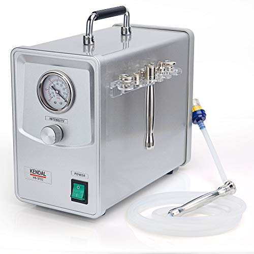 Kendal Professional Diamond Microdermabrasion Machine, Quality Dermabrasion Facial Skin Care Beauty Device with Power Suction HB-SF02