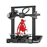 Stampante 3D Creality Ender 3 V2, Stampante FDM 3D con Scheda Madre Silenziosa, Nuova Piattaforma di Vetro Carborundum del Sistema UI di Funzionamento, 220x220x250mm