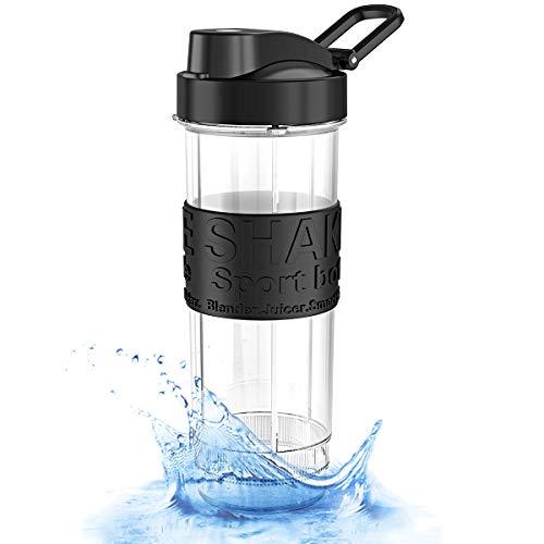 ROVLAK Bottiglia Acqua 570ml Bottiglia Portatile Sportiva Bottiglia BPA-Free Tritan Bottiglia Frullatore Bottiglia Viaggio per Bambini