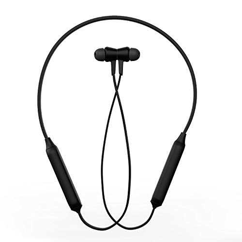 Zebronics Zeb Monk Wireless In-Ear Neckband Earphone with Active Noise Cancellation (ANC) supporting...