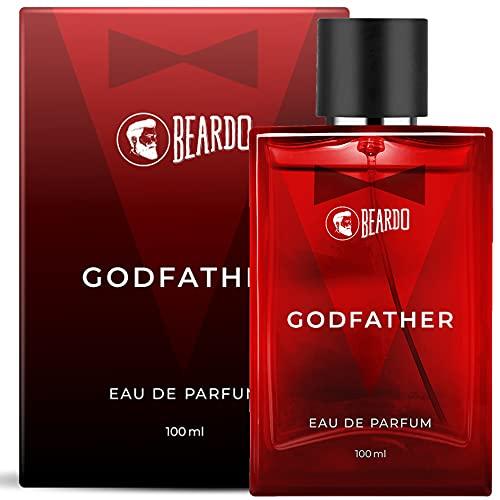 Beardo Godfather Perfume for Men, 100 ml | EAU DE PARFUM | Premium, Strong & Long Lasting Fragrance | Aromatic Woody Spicy